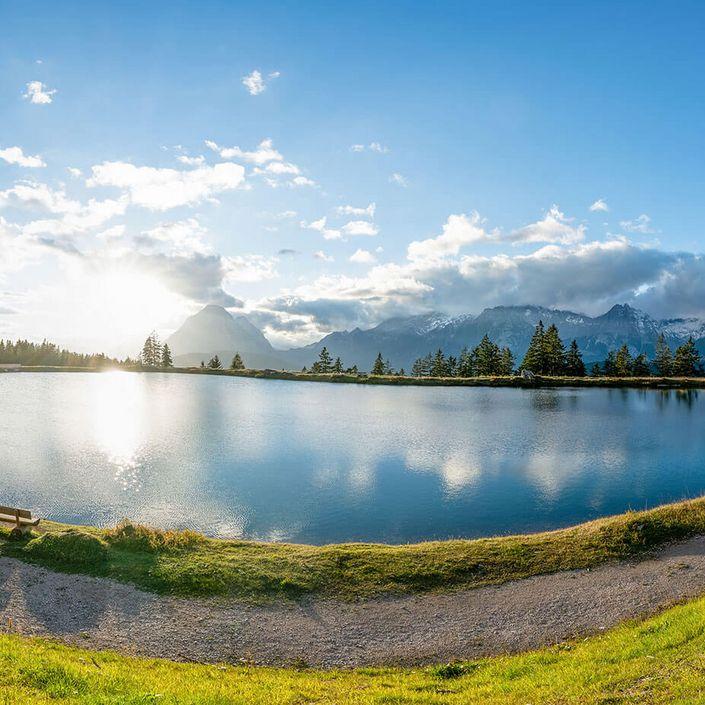 Kaltwassersee Panorama